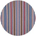 Safavieh Handmade Children's Stripes New Zealand Wool Rug (6' Round)