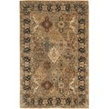 Safavieh Handmade Persian Legend Multi/ Black Wool Rug (7'6 x 9'6)