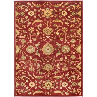 Safavieh Oushak Red/ Gold Rug (9'6 x 13')