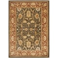 Safavieh Oushak Brown/ Rust Rug (9'6 x 13')