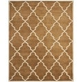 Safavieh Handmade Moroccan Chatham Brown Wool Rug (8' x 10')
