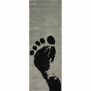nuLOOM Handmade Pino Footprint Runner