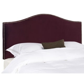 Safavieh Connie Eggplant Purple Headboard (Full/ Queen)