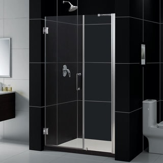 DreamLine Unidoor 47-51x72-inch Frameless Hinged Shower Door