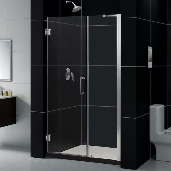 DreamLine Unidoor 47-51x72-inch Frameless Hinged Shower Door