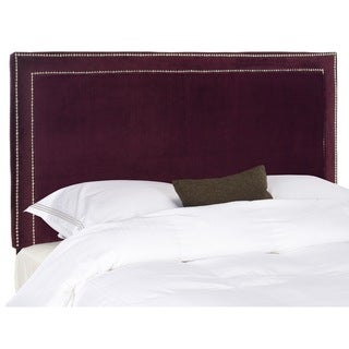 Safavieh Cory Eggplant Purple Headboard (Queen)