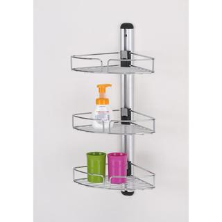 Modern Bathroom Wall Mount with Three Racks