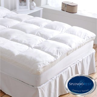 Splendorest Complete Comfort System Memory Fiber/ Foam Mattress Topper