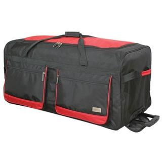 Geoffrey Beene Deluxe 36-inch Wheeled Upright Duffel Bag