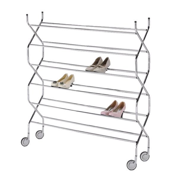 Criss Cross 6-tier Shoe Rack