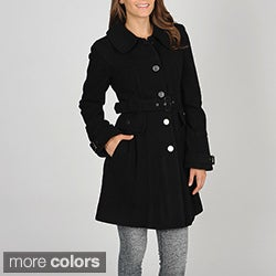 Vince Camuto Women's Missy-Fit Cashmere Wool Blend Coat