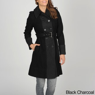 Vince Camuto Women's Double-breasted Trench Coat