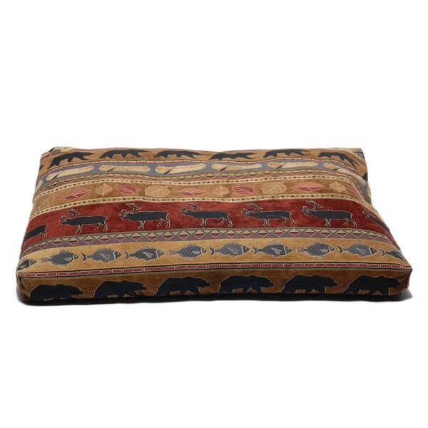 Carolina Pet Jamison Northwoods Red Pet Bed