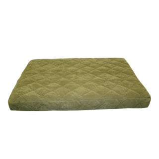 Carolina Pet Jamison Quilted Orthopedic Protector Pad Sage Green Pet Bed