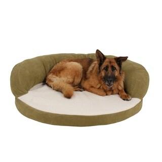 Carolina Pet Sage Ortho Sleeper Bolster Pet Bed
