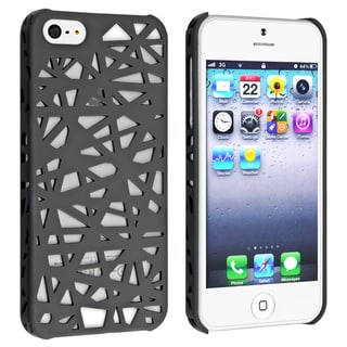 BasAcc Smoke Bird Nest Rear Snap-on Case for Apple iPhone 5