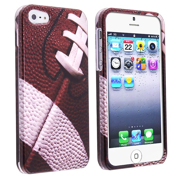 BasAcc Football-Sport Collection Snap-on Case for Apple iPhone 5