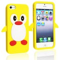 BasAcc Yellow Penguin Silicone Case for Apple iPhone 5