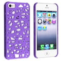 BasAcc Dark Purple Bird Nest Rear Snap-on Case for Apple iPhone 5