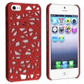 BasAcc Red Bird Nest Rear Snap-on Case for Apple iPhone 5