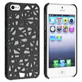 BasAcc Black Bird Nest Rear Snap-on Case for Apple iPhone 5
