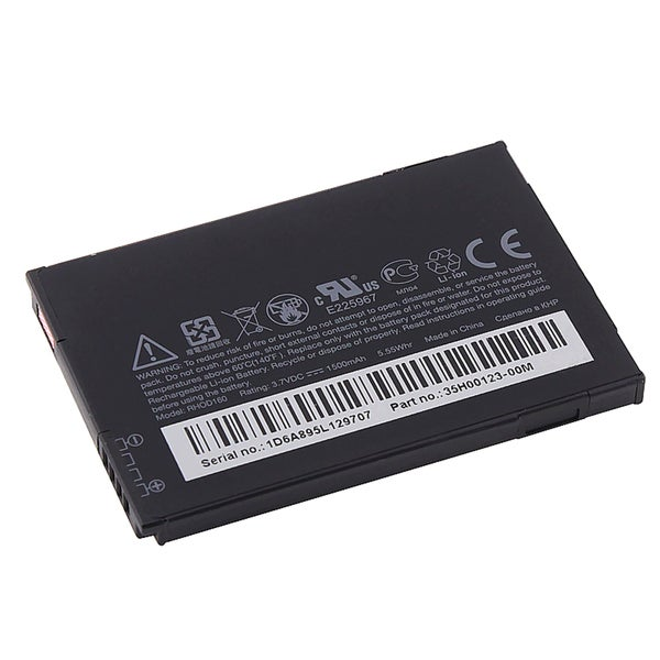 HTC EVO 4G Standard Battery RHOD160/ 35H00123-25M (A), Black