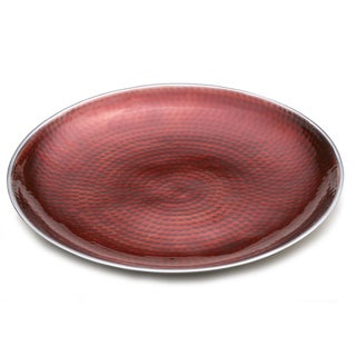 Towle Hammersmith Ruby Red Round Serving Platter