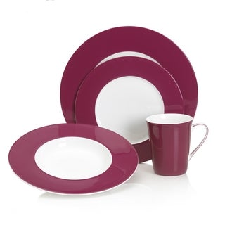 Mikasa Color Studio Fuscia 4-piece Place Setting