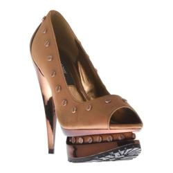 Women's Highest Heel Flame-41 Camel Soft Polyurethane