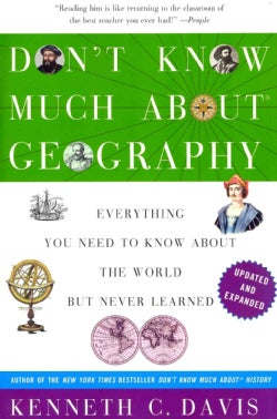 Don't Know Much About Geography (Paperback)
