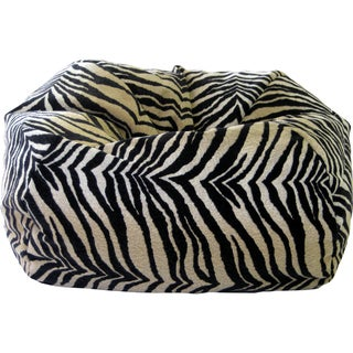 Gold Medal Extra Large Safari Microfiber Suede Bean Bag