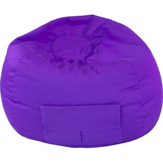 Gold Medal Cargo Pocket Purple Denim Look Medium/ Tween Bean Bag