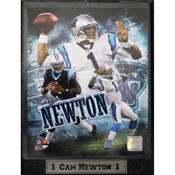 Encore Select Carolina Panthers Cam Newton Photo Plaque (9 x 12)