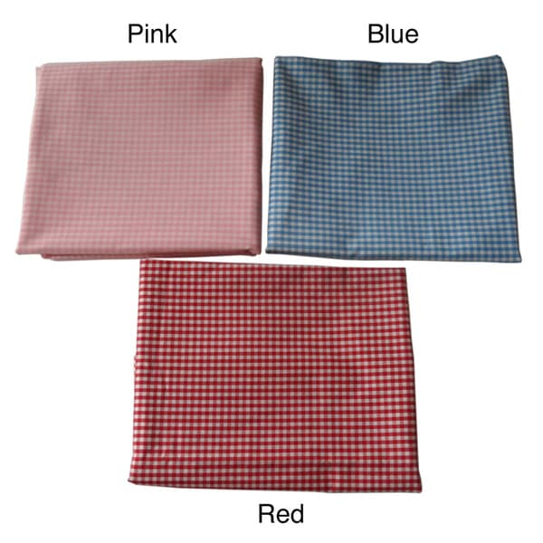 Ann Marie Lindsay Gingham Crib /Toddler Bed Fitted Sheet