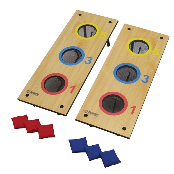 Three-Hole Bag/Washer Toss Board