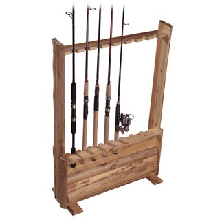 Rush Creek 8-Rod Rack with Storage