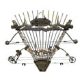 Rush Creek Bow and Arrows Wall Rack