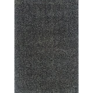 Blue/ Black Shag Area Rug