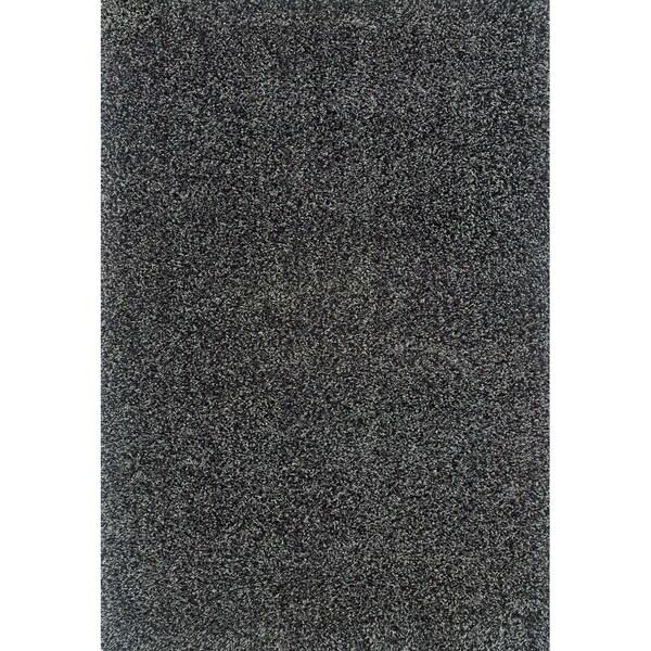 Blue/ Black Shag Area Rug