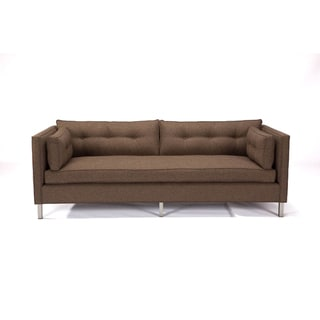 JAR Designs 'The Eastwyck' Root Beer Sofa