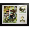 Encore Select Green Bay Packers Aaron Rodgers Deluxe Stat Frame