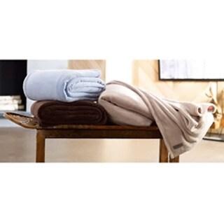 Eddie Bauer Microplush Fleece Blanket