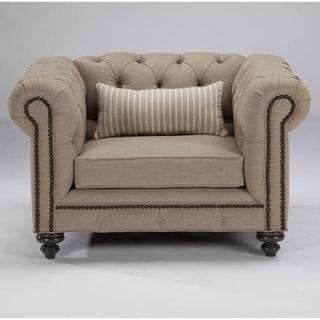 JAR Designs 'Alphonse Tufted' Liberty Chair