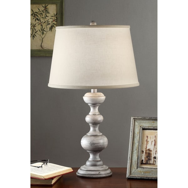 Charcoal Finish 26-inch Table Lamp
