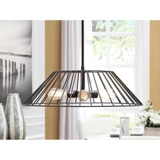 Renate 3-light Basket Chandelier