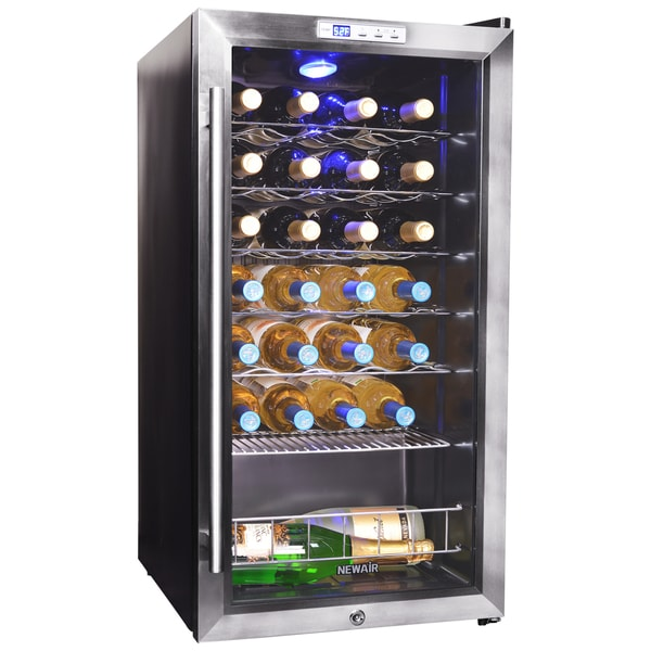 Newair Appliances AWC-270E 27-bottle Compressor Wine Cooler