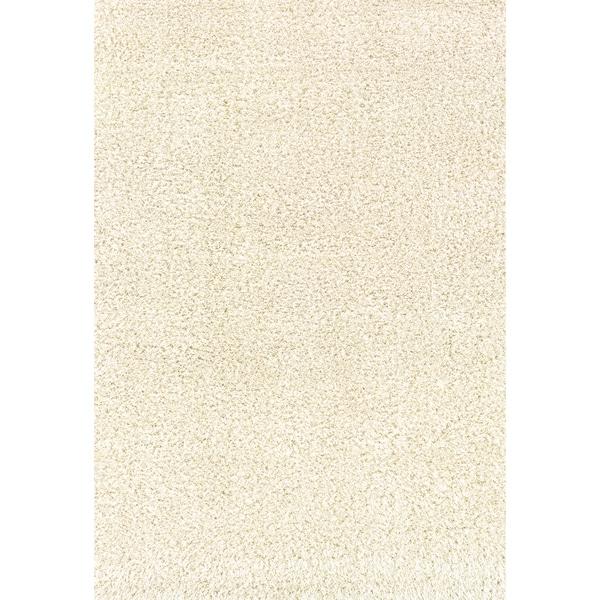 Indoor Ivory/Ivory Shag Area Rug