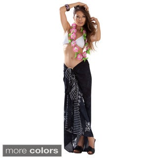 Solid Color Style Sarongs (Pack of 5) (Indonesia)