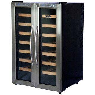 Newair Appliances 32-bottle Dual Zone Wine Cooler