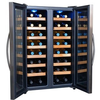 Newair Appliances 32-bottle Dual Zone Wine Cooler